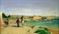 Antibes, the Horse Ride, 1868 von Jean-Louis Ernest Meissonier
