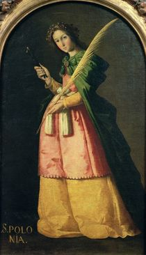 St. Apollonia, c.1636 by Francisco de Zurbaran