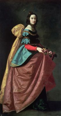 St. Elizabeth of Portugal 1640 von Francisco de Zurbaran