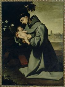 St. Anthony of Padua von Francisco de Zurbaran