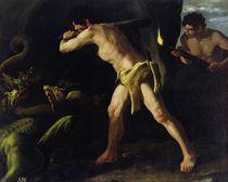Hercules Fighting with the Lernaean Hydra von Francisco de Zurbaran