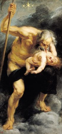 Saturn Devouring his Son, 1636 von Peter Paul Rubens