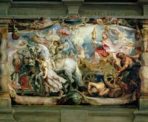 The Triumph of the Church over Fury von Peter Paul Rubens