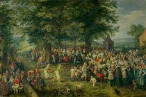 The Wedding Banquet by Jan Brueghel the Elder