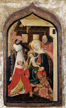 The Adoration of the Magi von French School