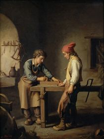 The Young Apprentice, before 1903 by Edouard Amable Onslow