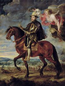 Philip II Crowned by Victory von Peter Paul Rubens