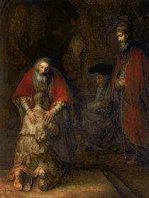 Return of the Prodigal Son von Rembrandt Harmenszoon van Rijn
