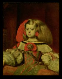 Portrait of the Infanta Margarita von Diego Rodriguez de Silva y Velazquez
