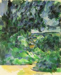 Blue Landscape, c.1903 by Paul Cezanne
