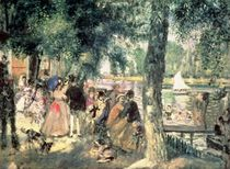 Bathing on the Seine or, La Grenouillere by Pierre-Auguste Renoir