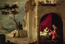 Isaac Blessing Jacob von Bartolome Esteban Murillo