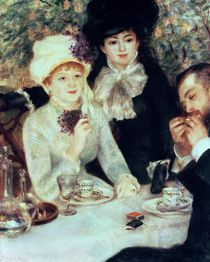 The End of Luncheon, 1879 by Pierre-Auguste Renoir