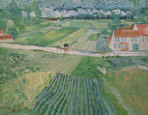 Landscape at Auvers after the Rain by Vincent Van Gogh