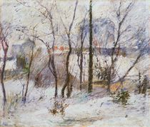 Garden under Snow, 1879 von Paul Gauguin