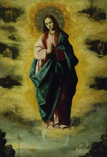 The Immaculate Conception, c.1630-35 von Francisco de Zurbaran