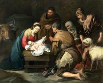The Adoration of the Shepherds von Bartolome Esteban Murillo