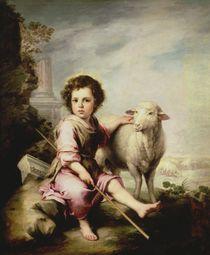 The Good Shepherd, c.1650 von Bartolome Esteban Murillo