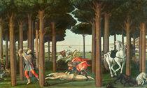 The Disembowelment of the Woman Pursued: Scene II of The Story of Nastagio degli Onesti