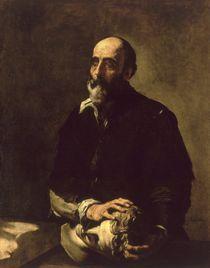 Portrait of the Blind Sculptor by Jusepe de Ribera