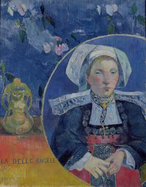 The Beautiful Angel , 1889 by Paul Gauguin