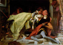 Death of Francesca da Rimini and Paolo Malatesta von Alexandre Cabanel