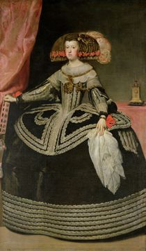 Queen Maria Anna of Austria von Diego Rodriguez de Silva y Velazquez