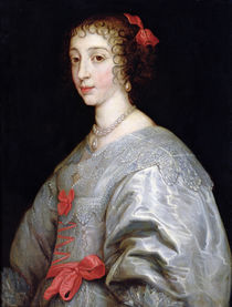Henrietta-Maria of France von Anthony van Dyck