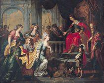 The Queen of Sheba before Solomon von Peter van Lint