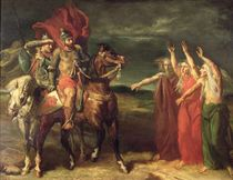 Macbeth and the Three Witches by Theodore Chasseriau