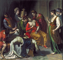 The Death of Anthony and Cleopatra by Alessandro Turchi