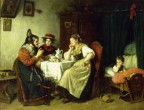 The Gossips, 1887 by Rudolf Epp