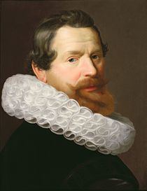 Portrait of a Man Wearing a Ruff von Dutch School