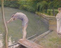 The Bather, or The Diver, 1877 von Gustave Caillebotte