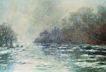 The Break up at Vetheuil, c.1883 von Claude Monet