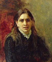 Portrait of Pelageya Antipovna Strepetova 1882 von Ilya Efimovich Repin