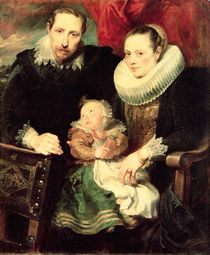 A Family Portrait, c.1618-21 von Anthony van Dyck