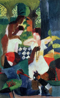 The Turkish Jeweller von August Macke