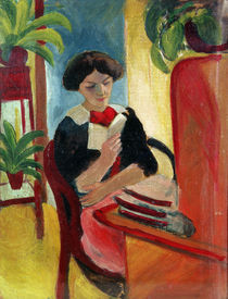 Elizabeth Reading von August Macke