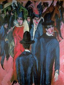 Berlin Street Scene, 1913 by Ernst Ludwig Kirchner