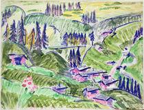 Landscape, 1918 by Ernst Ludwig Kirchner