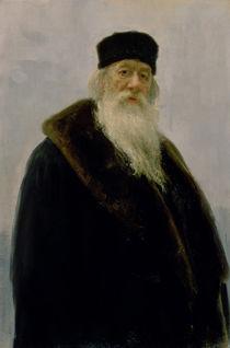 Portrait of Vladimir Vasil'evich Stasov 1900 von Ilya Efimovich Repin
