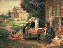 All in the Past, 1889 by Vasili Maksimovich Maksimov