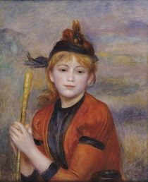 The Rambler, c.1895 by Pierre-Auguste Renoir