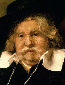 Detail of a Portrait of an old man von Rembrandt Harmenszoon van Rijn