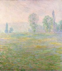 Meadows in Giverny, 1888 von Claude Monet