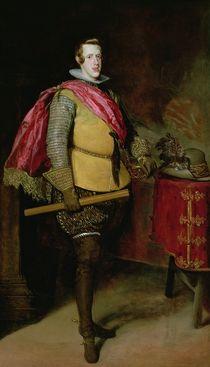 Portrait of Philip IV of Spain von Diego Rodriguez de Silva y Velazquez