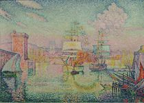 Entrance to the Port of Marseille by Paul Signac