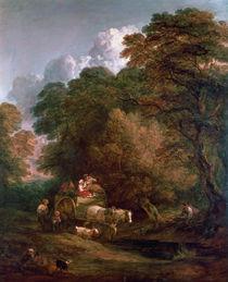 The Market Cart, 1786 by Thomas Gainsborough