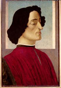 Portrait of Giuliano de' Medici c.1480 von Sandro Botticelli